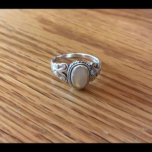 Jewelry - Sterling Silver Mother Of Pearl Ring